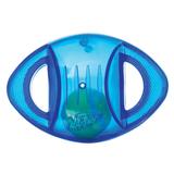 Nerf Игрушка гремящая с теннисным мячом внутри, 14 см, синяя