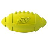 Nerf Игрушка для собак Мяч для регби пищащий, 17,5 см