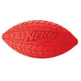 Nerf Игрушка для собак Мяч для регби резиновый пищащий, 15 см