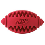 Nerf Игрушка для собак Мяч для регби рифленый, 10 см