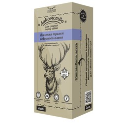 Venison вяленая трахея северного оленя лакомство для СРЕДНИХ пород собак 55 гр
