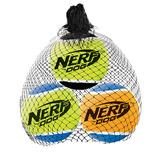 Nerf Мяч теннисный пищащий, 6 см (3 шт.)