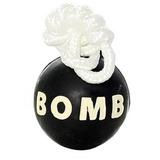 Tuffy прочная игрушка для собак резиновая Бомба, маленькая, Rugged Rubber Bomb Extra Small