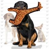"""Tuffy супер прочная игрушка для собак """"Зоопарк"""" Жираф, прочность 8/10, Zoo Giraffe"""