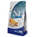 FARMINA N&D OCEAN корм для кошек всех пород Треска, спельта, овес, апельсин