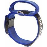 JULIUS-K9 ошейник для собак Color & Gray, с закрытой ручкой, сине-серый